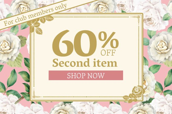 60% off second product: