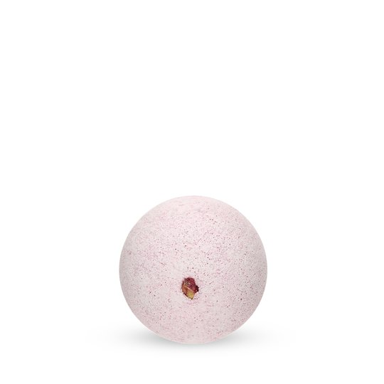 Mineral Bath Ball Rose with Rose