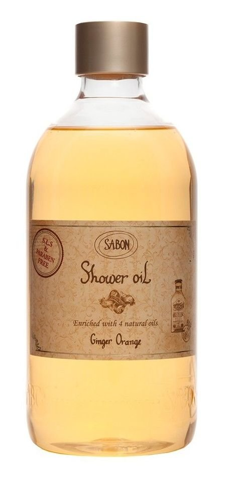 Shower Oil PET Ginger Orange