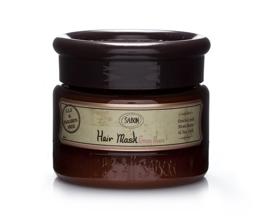 Hair mask Green Rose