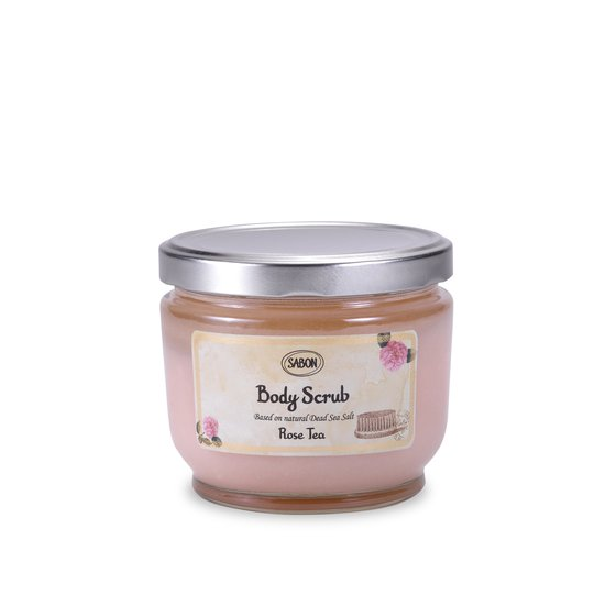 Body Scrub L Rose Tea