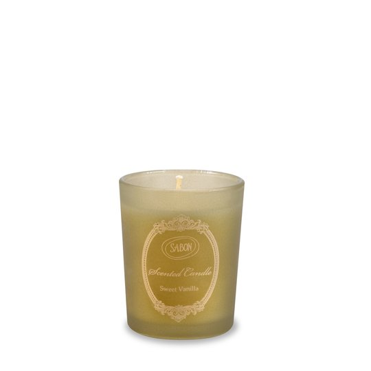 Candle in glass Sweet Vanilla S
