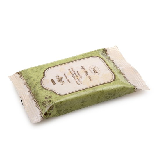 Refreshing Wipes Green Rose