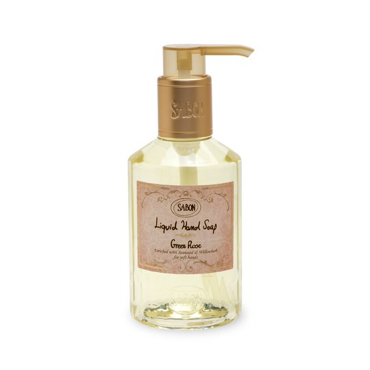 Liquid Hand Soap Green Rose