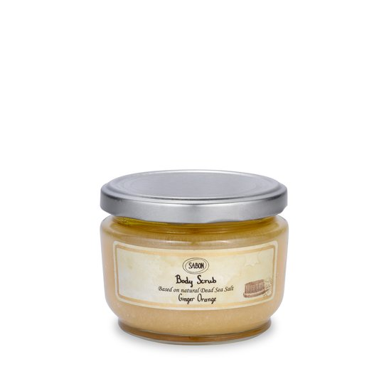Body Scrub M Ginger Orange