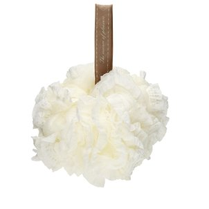 Bath Sponge Net White