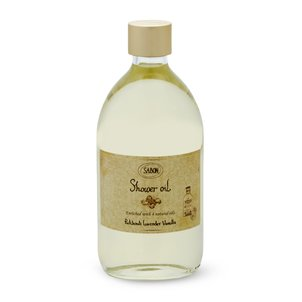 Shower Oil Patchouli Lavender Vanilla