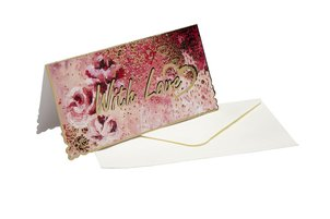 Greeting Cards Greeting card  Rose Splash