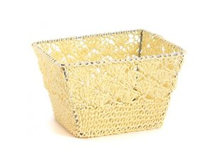 Home Accessories Baskets Crochet Beige S